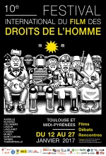 Affiche du film : FESTIVAL INTERNATIONAL DU FILM DES DROITS DE L'HOMME 2017