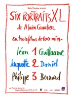 Affiche du film : SIX PORTRAITS XL : 1 LEON ET GUILLAUME