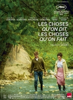 Affiche du film : LES CHOSES QU'ON DIT, LES CHOSES QU'ON FAIT
